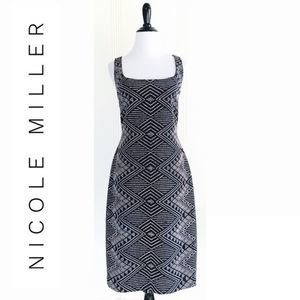 Nicole Miller New York Embellished Sheath
